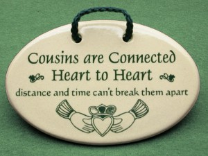 Cousins are connected Heart to Heart, Distance and Time can't break them apart