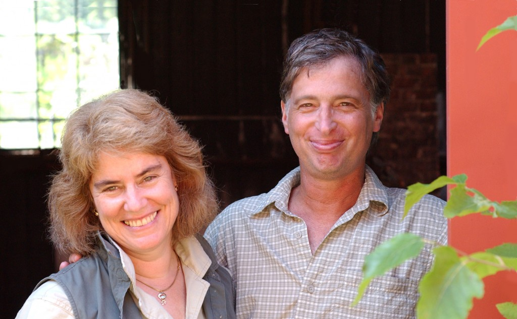 Mark and Deborah - Owners Mountaine Meadows Pottery