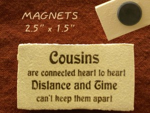 Cousins are Connected Heart to Heart Distance and Time Can't Keep Them Apart