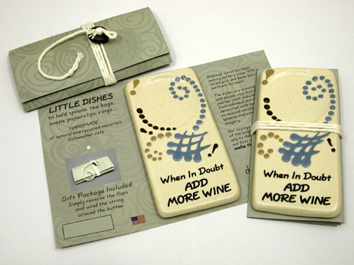 9041 Little Dish Wrapper grey background