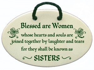 Blessed Sister wall sign
