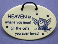 Heaven is where you meet all the cats you ever loved