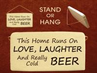 This Home Runs On LOVE, LAUGHTER And Really Cold BEER